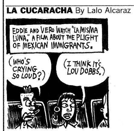 New Political Cartoon About LA MISMA LUNA | Blog | Fox Searchlight
