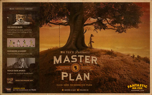 Join Fantastic Mr Fox S Master Plan Blog Searchlight Pictures