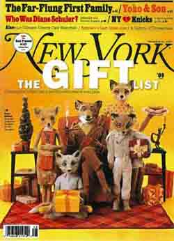 Fantastic Mr Fox Makes The Cover Of New York Magazine Blog Searchlight Pictures