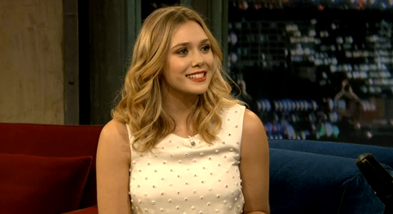 Elizabeth Olsen jimmy fallon interview