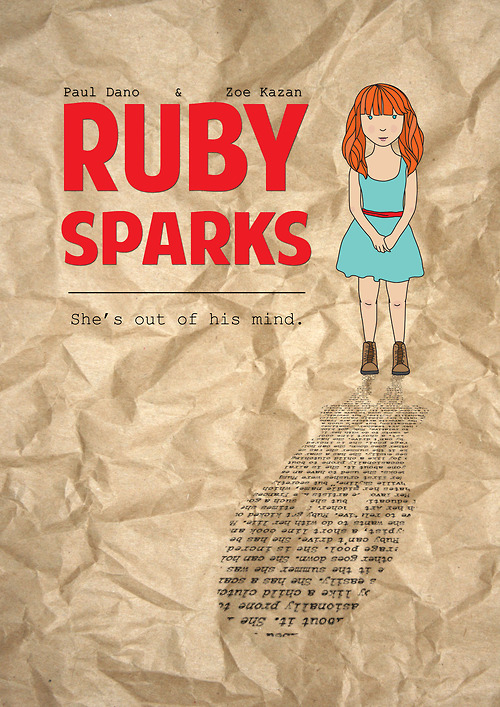 The winners of the RUBY SPARKS poster contest are revealed